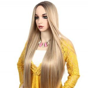 """🆕BOGO Straight Middle Part Ombre 24"""" Daily Wear"""